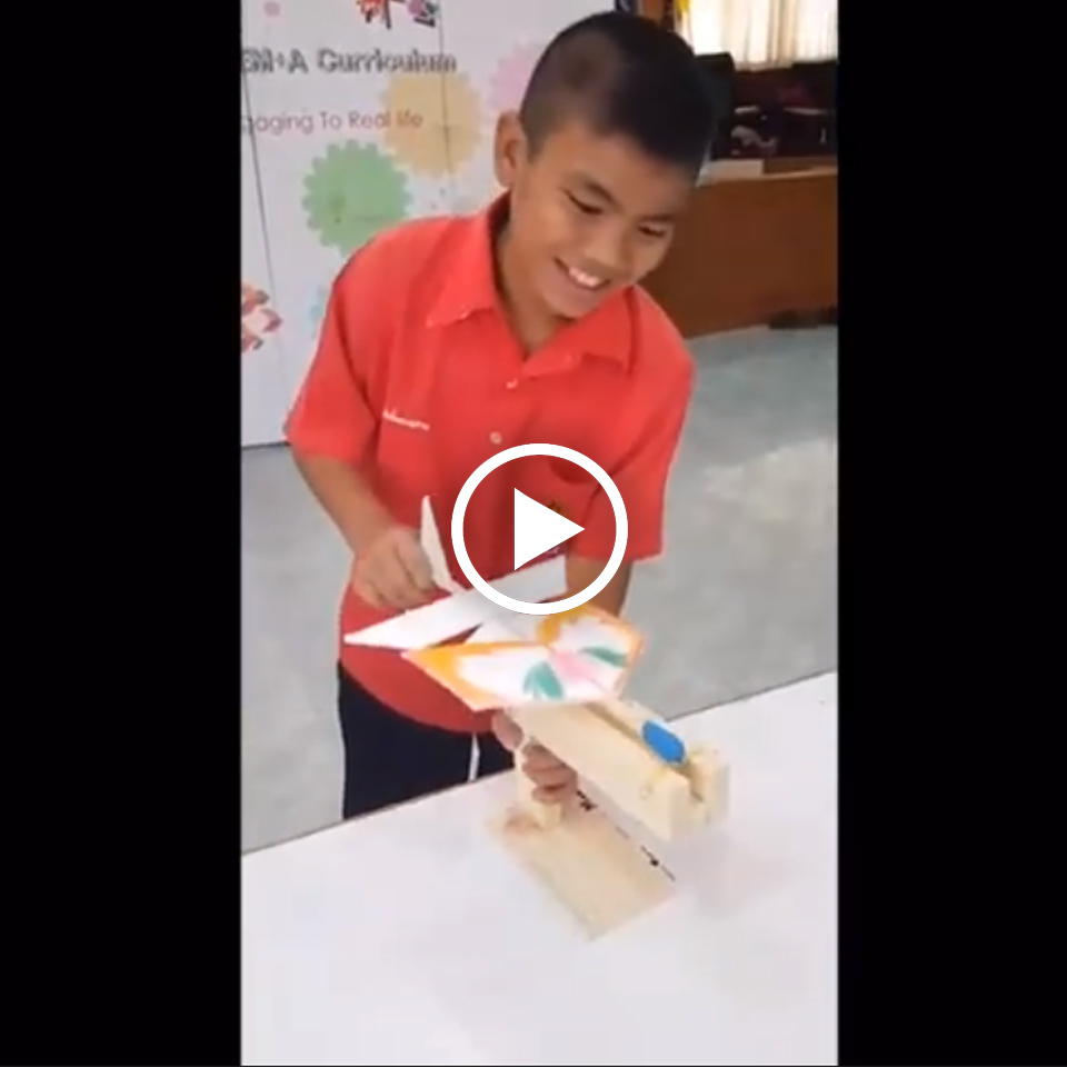 STEM+A Day Camp : Gliderเครื่องยิง ในสาระการเรียนรู้เรื่องแรง การเคลื่อนที่ของวัตถุ